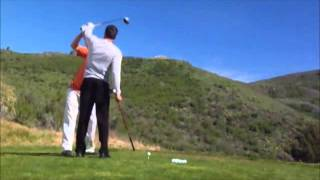 Video A Golf Lesson on How To Fix A Big Push/Slice or A Pull Hook MP3, 3GP, MP4, WEBM, AVI, FLV Juni 2018