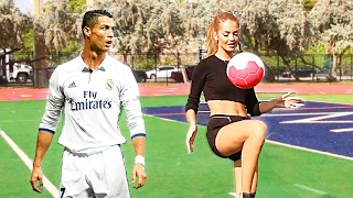 Video Even RONALDO says that SHE is BETTER THAN HIM!! MP3, 3GP, MP4, WEBM, AVI, FLV Februari 2017