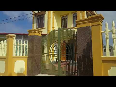 Mẫu nhà đẹp và hàng rào mới nhất xem cho biết.