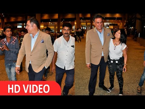 Boman Irani Spotted At Airport