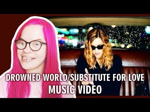 MADONNA - DROWNED WORLD/SUBSTITUTE FOR LOVE (MUSIC VIDEO REACTION) | Sisley Reacts