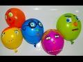 Baloon Finger Family NURSERY RHYMES Разноцветные Шарики Песенка Пальчики