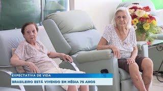 Levantamento do IBGE aponta que expectativa de vida do brasileiro é de 76 anos