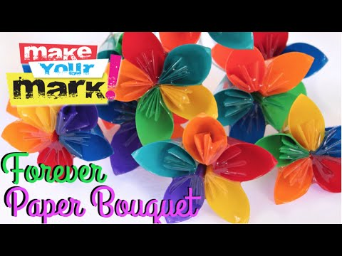 How to Forever Paper Bouquet