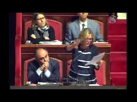 Loredana De Petris (SEL) dichiarazione di voto sulla riforma costituzionale – 8 Agosto 2014