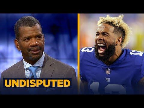 Rob Parker joins Skip and Shannon to talk Odell Beckham Jr.'s halftime antics | NFL | UNDISPUTED