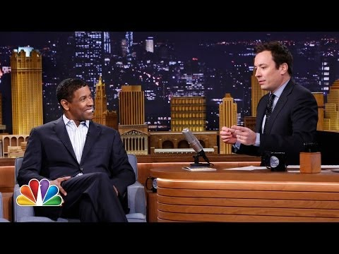 washington - Jimmy asks Denzel about playing basketball at Fordham at the same time as Jimmy's uncle, and the two compare their experiences of being directed by Spike Lee...