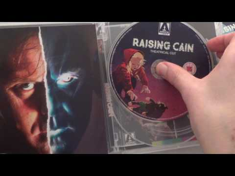 Arrow Video Raising Cain Limited Edition Unboxing & Review