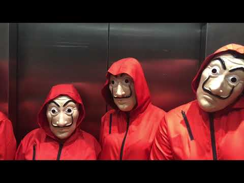 Casa de Papel - Optime Halloween 2018