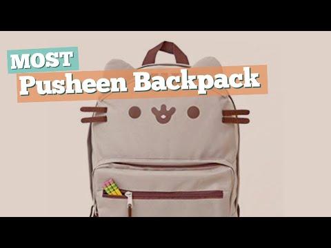 Pusheen Backpack // Most Beautiful