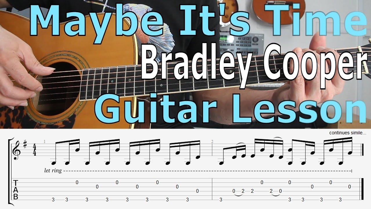Lady Gaga, Bradley Cooper – Shallow, (A Star Is Born) Guitar Lesson, TAB, Chords, Tutorial