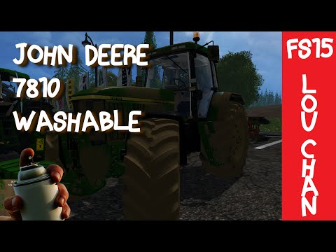 John Deere 7810 V2 Full Pack Washable