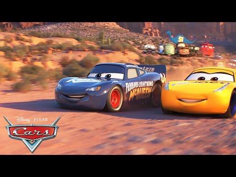 Lightning McQueen and Cruz Race Around Willy's Butte   Pixar Cars