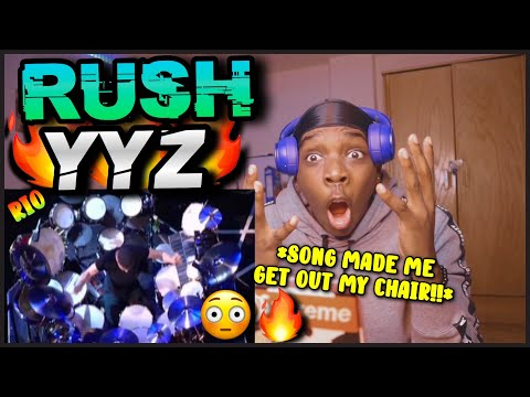 RUSH YYZ MADE ME STAND UP! (LITERALLY) RUSH - YYZ Live (RIO) [REACTION!]🔥