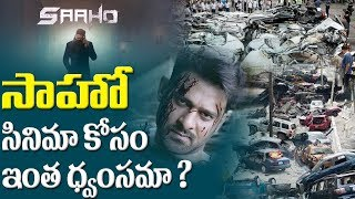 Prabhas' Saaho Team Crashed Cars And Trucks for one action sequence