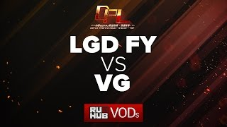 LGD Forever Young vs Vici Gaming, DPL Season 2 - Div. A, game 2 [Tekcac]