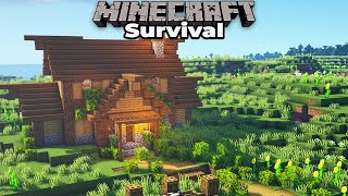 A Brand New Minecraft 1.15 Survival World, Done Right! Upgrading your FIRST Starter House
