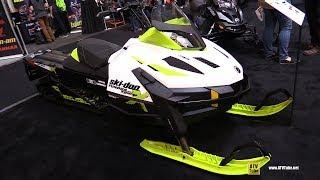 4. 2018 Ski Doo Tundra Xtreme 600 Sled - Walkaround - 2017 Toronto Snowmobile ATV Show
