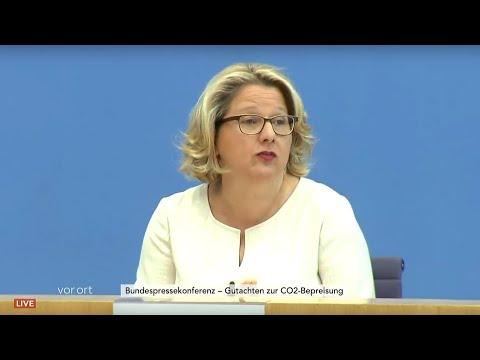 CO2-Steuer: Vorstellung eines Gutachtens u.a. mit Umwe ...