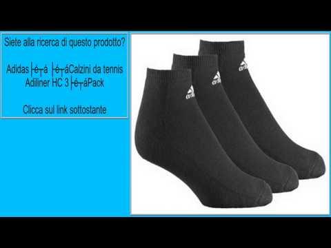 Adidas Calzini da tennis Adiliner HC 3Pack