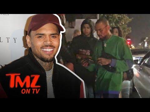 Chris Brown's Temper Heats Up With Valet | TMZ TV