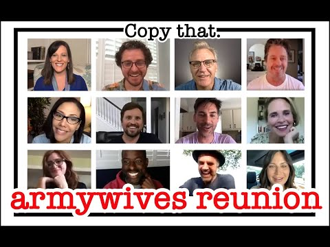 Copy that.  Operation Smile:  Army Wives Reunion