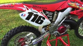 5. Honda CR250R Jeremy McGrath replica 2004 model