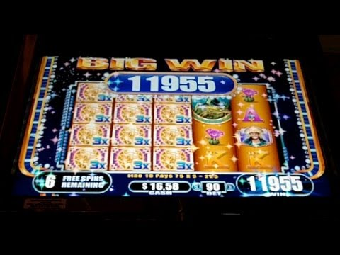 WMS - Treasures of Macchu Picchu Slot Machine Bonus