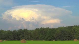 Large Thunderstorm Time-Lapse, Tionesta, PA - 8-15-2015