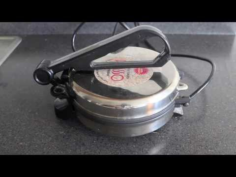 How to use Roti Maker / Chappati Maker / tortilla maker- HD Dough Prep to Roti