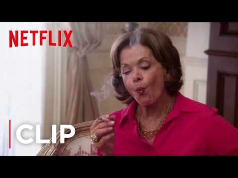 development - Arrested Development Season 4 - Lucille finds a way to get around the building's strict no smoking policy and the fact that her ankle monitor prevents her fr...