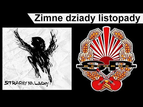 Tekst piosenki Grabaż i Strachy Na Lachy - Zimne dziady listopady po polsku