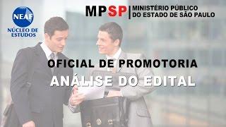 Análise do Edital Oficial de Promotoria MPSP 2015