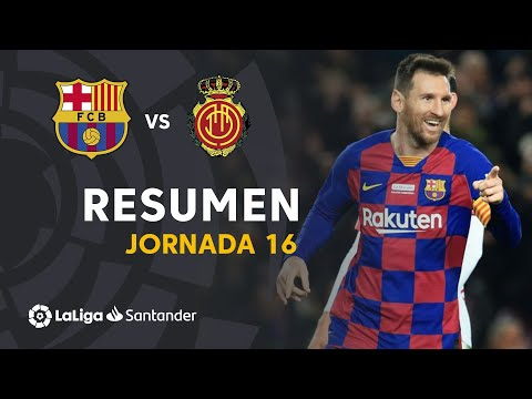 FC Barcelona 5-2 RCD Real Club Deportivo Mallorca ...