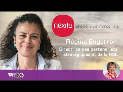 Régine Engström Directrice des partenariats stratégiques & R.S.E. chez NEXITY au PROPEL by MIPIM2020