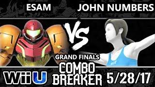 Combo Breaker 2017 Grand Finals – PG ESAM (Samus) versus KPB HO3K John Numbers (Wii Fit Trainer)