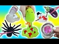 Cutting Open Squishy Spider Toy! Homemade Gudetama Stress Ball! Doctor Squish