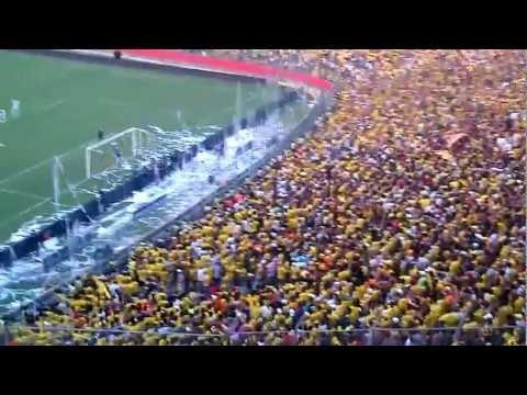 SUR OSCURA - PENAL Y GOL DE OYOLA VS TACHIRA - Sur Oscura - Barcelona Sporting Club