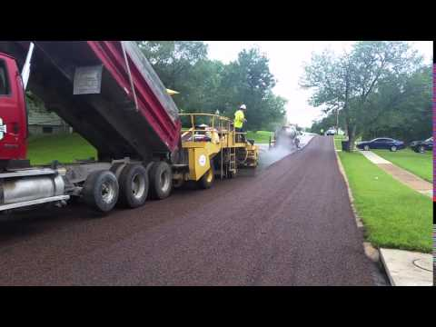City of Normandy, Missouri Asphalt Chip Seal 2015