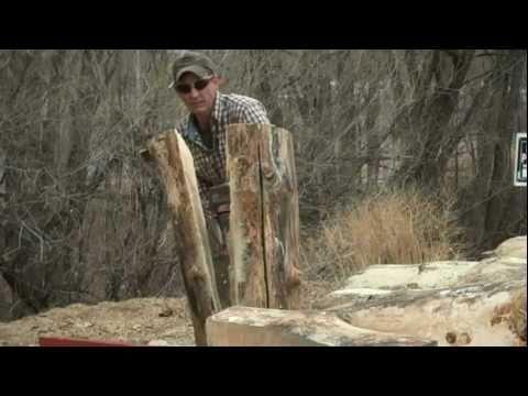 Creating Rocky Mountain Style Log Furniture (видео)