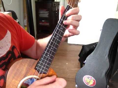 Blues Ukulele Shuffle Pattern in C
