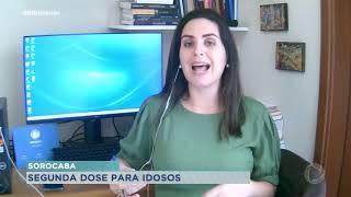 Sorocaba começa imunizar segunda dose em pessoas com 66 anos
