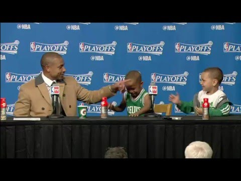 Isaiah Thomas' Sons Steal Show in Post-Game Interview