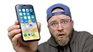 I've Got The iPhone X Prototype!!!