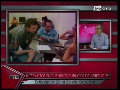 Interactos Encuentros Públicos de Artes 2019 Edición IV 23 al 26 de Octubre