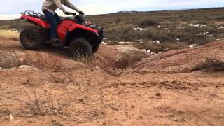 6. Vid #5 - 4x4 action on new 2016 Honda Rancher 420 4x4 DCT EPS