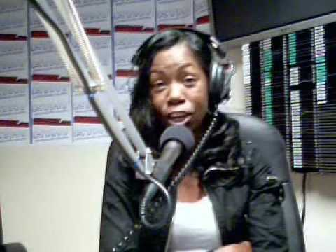 Comedian Melanie Comarcho LIve in the Studio