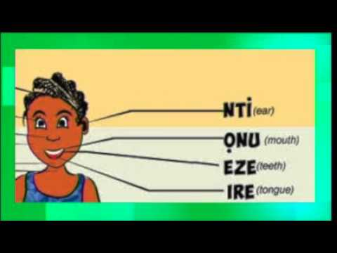 Ije the World Traveler Teaches You Body Parts in Igbo!