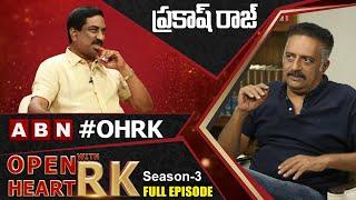 Senior Actor Prakash Raj Open Heart With RK | Full Episode | Season-3