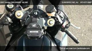 9. Honda CBR1000RR  @ EUROSPEC INC